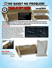 5X Sandless Sand Bags - Flood Prevention and Protection - Flood Defense System