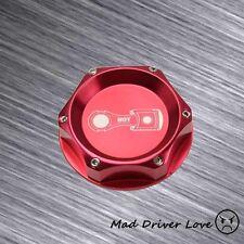 RED BILLET ALUMI. ENGINE OIL CAP COVER FITS HONDA CIVIC CRX DEL SOL ACCORD