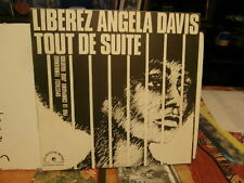 "the black panther-liberez angela davis tout de suite""lp12""or:ldx74460 de 1971"