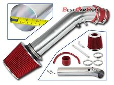 BCP RED 96-98 Honda Civic EX/HX 1.6L L4 Air Intake Racing System + Filter