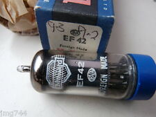 EF42 MULLARD BLUE BOX    VALVE TUBE 1 PC F