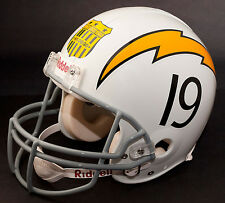 SAN DIEGO CHARGERS 1963 Riddell NFL Full Size REPLICA Football Helmet