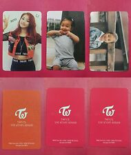 LOT OF 3 TWICE JIHYO Official Photocard Full Set 1st Album The Story Begins