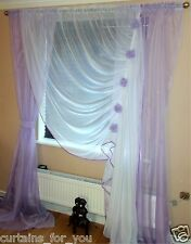 13 COLOURS AMAZING LONG AND SHORT VOILE CURTAINS / FOR YOUR WINDOW/ VERY PRETTY!