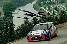 Robert KUBICA SIGNED AUTOGRAPH 12x8 CITROEN Polish WRC Photo AFTAL COA