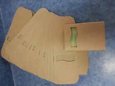 Kraft Soap Box 100 Open Wave Window Square Cut Out On Front Very Cute!