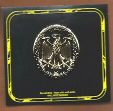 US ARMY GERMAN PROFICIENCY BADGE IN GOLD  - MADE BY STA-BRITE