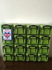 Really Useful Organiser Box Green with 16 X 0.14 Litre Boxes. Back to School
