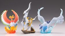 NEW Nintendo POKEMON JAPAN Limited Figure Ho-oh & Lugia & Arceus SET F/S KAIYODO