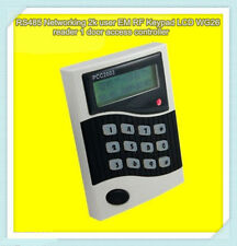 RS485 Networking 2k user EM RFID Keypad LCD WG26 reader 1 door access controller