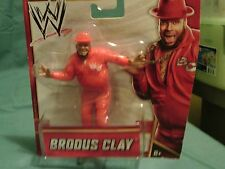 WWE 2012 BRODUS CLAY BY MATTLE 4 INCHES NEW SEALED