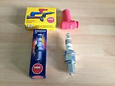 KTM SX50 PRO JUNIOR SENIOR 03-08 NGK IRIDIUM RACE SPARK PLUG & CAP FREE POST!