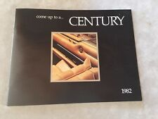 CENTURY BOAT~BOATS~1982 ORIGINAL SALES BROCHURE~MINT CONDITION~CORONADO~RESORTER