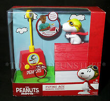 New SNOOPY FLYING ACE Remote Control DOGHOUSE - PEANUTS Preschool R/C RED BARON