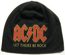"AC/DC JERSEY BEANIE # 6 / MÜTZE / CAP ""LET THERE BE ROCK"""