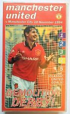 Manchester United v Man City 5-0 Video Demolition Derby 1994-1995