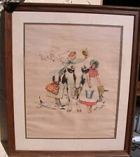 Vintage Norman Rockwell A/P Artist Proof Colored Lithograph Framed N/R 49.99