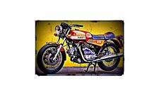 1976 ducati 860gts Bike Motorcycle A4 Retro Metal Sign Aluminium
