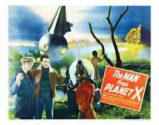 Man From Planet X Poster 02 A4 10x8 Photo Print
