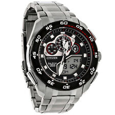 Citizen Eco-Drive Mens Promaster Super Sport Digital Analog Watch JW0111-55E