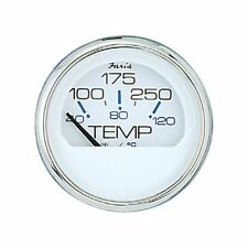 Faria Boat Gauge Chesapeake White S/S Instruments Water Temp Temperature 13804