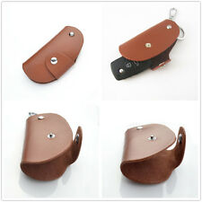 Genuine Leather Remote Smart Key Holder Fob For Mercedes-Benz E,S,ML,CL,CLK,SLK