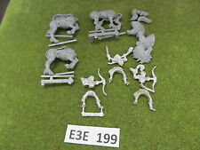 Warhammer Fantasy AoS 3 unprimed oop metal Wood Elves Glade Riders