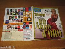 TV SORRISI E CANZONI=1999/1=NANCY BRILLI=ENRICO SILVESTRIN=BIAGIO ANTONACCI=