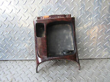04 HYUNDAI SONATA CENTER CONSOLE FRONT COIN TRAY W/POWER OUTLET WOOD GRAIN