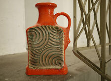 BIG D&B Floor Vase 680-46 Fat Lava Pottery KERAMIK 60er TRUE VINTAGE 60s GERMANY