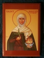 EASTERN ORTHODOX CHRISTIAN ICON OF ST. BRIGID