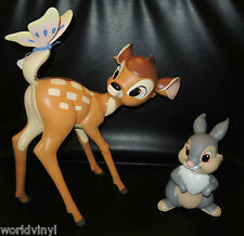 NIB Disney Enchanting Collection Bambi & Thumper Statement Figurine Big Figure