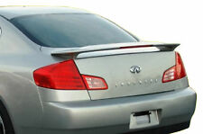 PAINTED SPOILER FOR AN INFINITI G35 4-DOOR SEDAN FACTORY STYLE 2003-2006