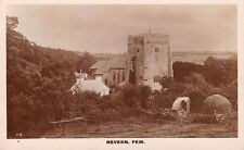 WALES - NEVERN, Church, Pembrokeshire. Real Photo by Squibbs, Cardigan.