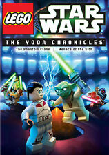 LEGO Star Wars The Yoda Chronicles The Phantom Clone & Menace of The Sith on DVD