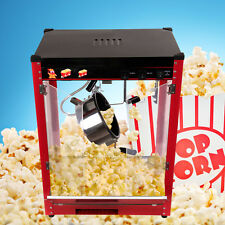 8oz Red Bar Table Top Popcorn Popper Maker Machine Commercial Theater Style