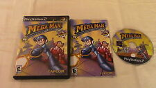 Mega Man Anniversary Collection Sony Playstation 2 PS2 Video Game Complete