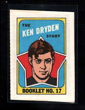 1971-72 TOPPS OPC #17 KEN DRYDEN EX D9272