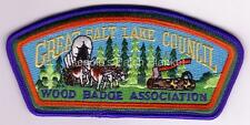 Great Salt Lake Council SA-105 2002 Woodbadge Assn. CSP Mint Cond FREE SHIPPING