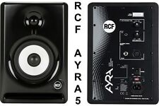 RCF AYRA 5 NEARFIELD REFERENCE STUDIO COMPUTER 110w MONITORS $15 INSTANT OFF