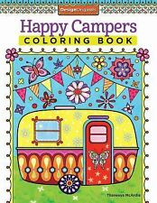 Happy Campers Coloring Book by Thaneeya McArdle (2014, Paperback)