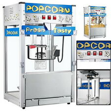 Commercial Quality Nostalgia Movie Time Popcorn Maker Hot Machine Popper 2 Years