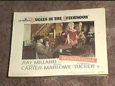 BUGLES IN THE AFTERNOON 1952 LOBBY CARD #8 WESTERN DARREN MCGAVIN