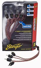 Brand New Stinger RCA Interconnect Cable 12 Feet 4000 Series Si4412 4-Channel