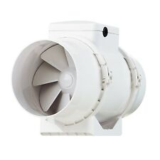 Vents TT-150-T TT Mixed Flow in Line Extractor Fan with Run Onm Timer 150... NEW