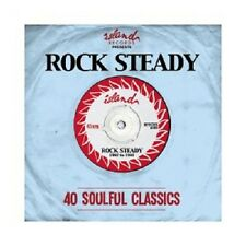 Islanda Presents: rock Steady (Pat Kelly/Slim Smith/The Uniques/+) 2 CD NUOVO