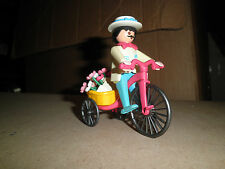 PLAYMOBIL 5400 Flower seller with tricycle and flowers Lot5300 mansion house