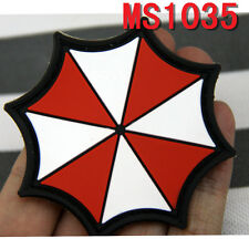 New Style Militaria Patches Resident Evil Umberlla Logo PVC Rubber Velcro Patch