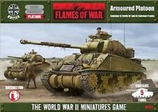 Flames of War British Sherman Armoured Platoon