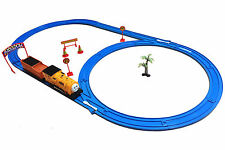 Kids Complete Thomas Train Set with Light and Sound Battery Operated